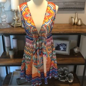 Authentic Shahida Parides swim cover up dress